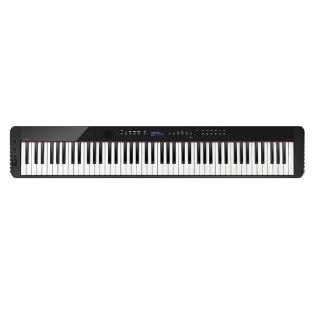 卡西欧电子乐器 电钢琴 纤薄时尚智能个性电钢琴 三角钢琴音效便携不插电电钢琴 多重演奏功能舞台表演级电钢琴(单机版)PX-S3000BK