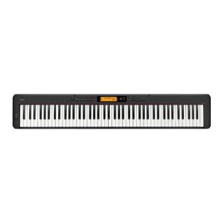 卡西欧电子乐器 电钢琴 内含700种音色 88键渐进式击弦键盘 多功能便携电钢琴(单机版)EP-S320BK