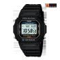 卡西欧手表 G-SHOCK  时尚经典系列太阳能动力防水运动手表G-5600E-1