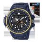 卡西欧手表 G-SHOCK  航海系列人造蓝宝石玻璃男表GWN-Q1000NV-2A