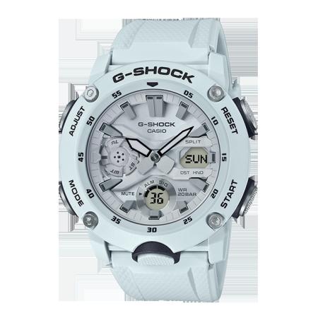 卡西欧手表 G-SHOCK 碳纤核心防护构造 防水防震运动男表GA-2000S