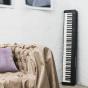 卡西欧电子乐器 电钢琴  88键渐进式击弦键盘 CDP-S150BK(单机版) 初学入门便携电钢琴双钢琴模式