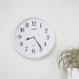 卡西欧钟表 挂钟  客厅钟表时尚简约卧室挂墙石英钟IQ-88