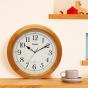 卡西欧钟表 挂钟  挂钟静音客厅钟表现代石英钟IQ-121S