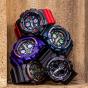 卡西欧手表 G-SHOCK  双显全新表款 大表盘设计  复古潮流 防水防震动男表GA-140
