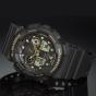 卡西欧手表 G-SHOCK  经典黑金潮流入门款防水防震运动手表GA-100GBX