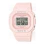 卡西欧手表 BABY-G  黑白粉基础款防震防水运动女表BGD-560
