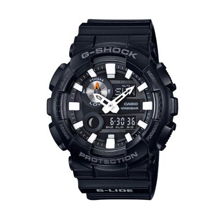 卡西欧手表 G-SHOCK G-LIDE系列清晰大表盘设计运动防水男表GAX-100