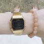 卡西欧手表 小金表  复古方形经典电子手表LA680WGA-1B