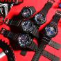 卡西欧手表 G-SHOCK  Layered Black & Tricolor系列 2018硬碰硬主打款手表GA-800LT-1APR