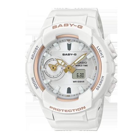 卡西欧手表 BABY-G 金属元素×基础配色 防震防水运动女表BGA-230SA