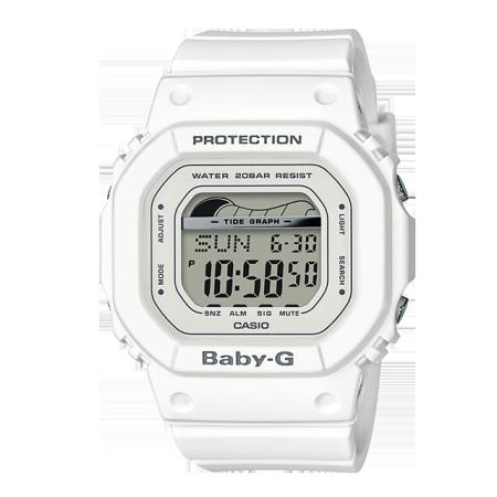 卡西欧手表 BABY-G 潮汐功能防水防震冲浪运动女表BLX-560