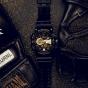 卡西欧手表 G-SHOCK  经典黑金配色 防水防震防磁运动男表GA-400GBX