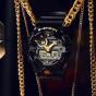 卡西欧手表 G-SHOCK  经典黑金配色 大表盘防水防震运动男表GA-710GBX