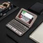 卡西欧电子教育 多语旗舰  日英法德汉辞典、多国语学习、凛冬灰E-Z800GY