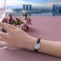 卡西欧手表 SHEEN  中国区限定 特殊礼盒包装赠送替换表带 电波太阳能人造蓝宝石玻璃镜面 防水优雅女表 蜜桃金PEACH GOLDSHW-5000LTD-7A2