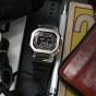 卡西欧手表 G-SHOCK  经典金属版 硬朗风格 防水防震太阳能功能男表GMW-B5000-1PR