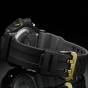 卡西欧手表 G-SHOCK  蓝牙连接防水防震太阳能动力功能 男款手表 黑金经典配色追加GR-B100GB