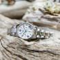 卡西欧手表 SHEEN  中国区限定款 人造蓝宝石玻璃镜面 施华洛世奇仿水晶点缀 防水优雅女表SHE-5520