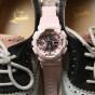卡西欧手表 G-SHOCK  G-SHOCK 女性系列 中性粉色系防水运动手表GMA-S110MP