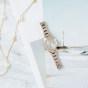 卡西欧手表 SHEEN  人造蓝宝石玻璃太阳能动力优雅女表SHE-4522CG-4A