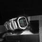 卡西欧手表 G-SHOCK  35周年纪念款 耐冲击构造全金属 防震防水六局电波太阳能动力运动男表GMW-B5000D-1PR