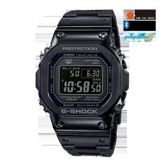 卡西欧手表 G-SHOCK 全金属IP涂层反显液晶屏 防震防水六局电波太阳能动力运动男表GMW-B5000GD-1PR