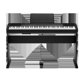 卡西欧电子乐器 电钢琴 88键重锤专业成人初学入门幼师儿童多功能琴CDP-135官方套装(包含琴架)