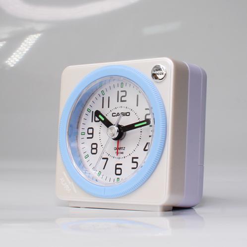 卡西欧钟表 台式闹钟  学生儿童闹表卧室床头多功能闹铃TQ-146-7PF