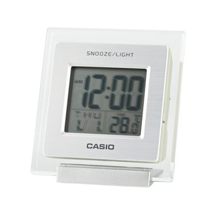 卡西欧钟表 台式闹钟 学生儿童闹铃卧室静音多功能电子时钟DQ-735-8PF