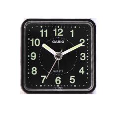 卡西欧钟表 台式闹钟 学生儿童闹表卧室床头静音夜光时钟TQ-140S-1PF