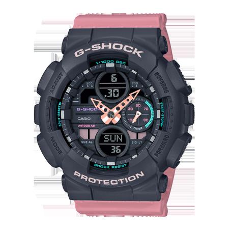 卡西欧手表 G-SHOCK G-SHOCK 女性系列 时尚个性 防水防震防磁运动男/女表GMA-S140