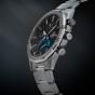 卡西欧手表 EDIFICE  轻薄设计 人造蓝宝石玻璃镜面 蓝牙太阳能动力 多指针计时 防水商务男表EQB-1000YD-1APR