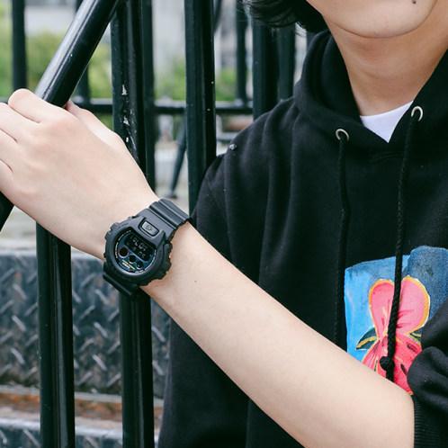 卡西欧手表 G-SHOCK  时尚设计 色彩元素主题  防水防震运动男表DW-6900BMC-1PR