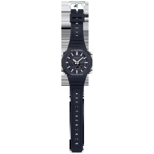 卡西欧手表 G-SHOCK  极简设计 外观八角形结构 双显最薄表款 防水防震运动男表GA-2100