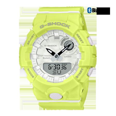 卡西欧手表 G-SHOCK G-SHOCK 女士腕表 时尚个性 防水防震运动女表GMA-B800