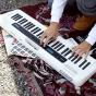 卡西欧电子乐器 电子琴  玩酷舞曲便携手提电子琴CT-S200