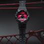 卡西欧手表 G-SHOCK  【新品】CITY BATTLE系列 红黑经典配色 双色成型表带  防水防震运动男表GA-700AR-1APR