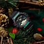 卡西欧手表 G-SHOCK  圣诞配色主题  复古风设计  防水防震运动男表DW-5900TH-1PR