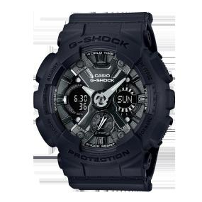 卡西欧手表 G-SHOCK G-SHOCK 女士腕表 小型化表盘运动防震防水手表GMA-S120MF