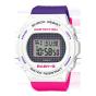 卡西欧手表 BABY-G  25周年主题色为配色  潮流几何学图案设计  防水防震运动女表BGD-570THB-7PR