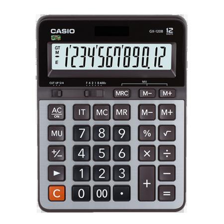卡西欧计算器 日常商务 办公计算器GX-120B
