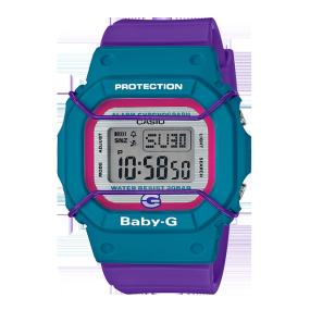 卡西欧手表 BABY-G 25周年纪念款 特殊表盒专属背刻 防水防震运动女表BGD-525F-6PR