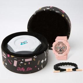卡西欧手表 BABY-G 林允合作款礼盒 时尚经典 防水防震运动女表BA-130