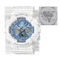 """卡西欧手表 BABY-G  2020鼠年限量礼盒(""""鼠年大吉""""定制款手表+""""金鼠纳福""""定制款计算器)BA-130-7A2PR+FX-991CN X BU"""