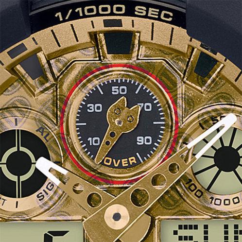 卡西欧手表 G-SHOCK  招财猫主题款 防水防震男表 特殊表盒GA-100TMN-1ADR