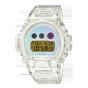 卡西欧手表 G-SHOCK  【新品】25周年纪念款 视角改变颜色的表盘玻璃渐变设计  防水防震运动男表DW-6900SP