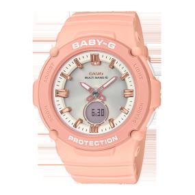 卡西欧手表 BABY-G 夏日配色 时尚百搭 防水防震运动女表BGA-2700