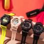 卡西欧手表 G-SHOCK  G-SQUAD运动系列 蓝牙多功能计步器  防水防震运动女表GMD-B800
