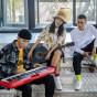 卡西欧电子乐器 电子琴  CASIO X 东来也联名礼盒 玩酷舞曲便携手提电子琴CT-S200